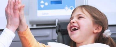 bambini contenti con l'ozono